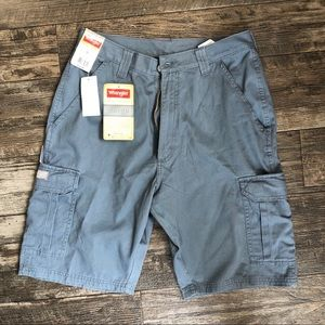 Wrangler Shorts - Grey Cargo Shorts